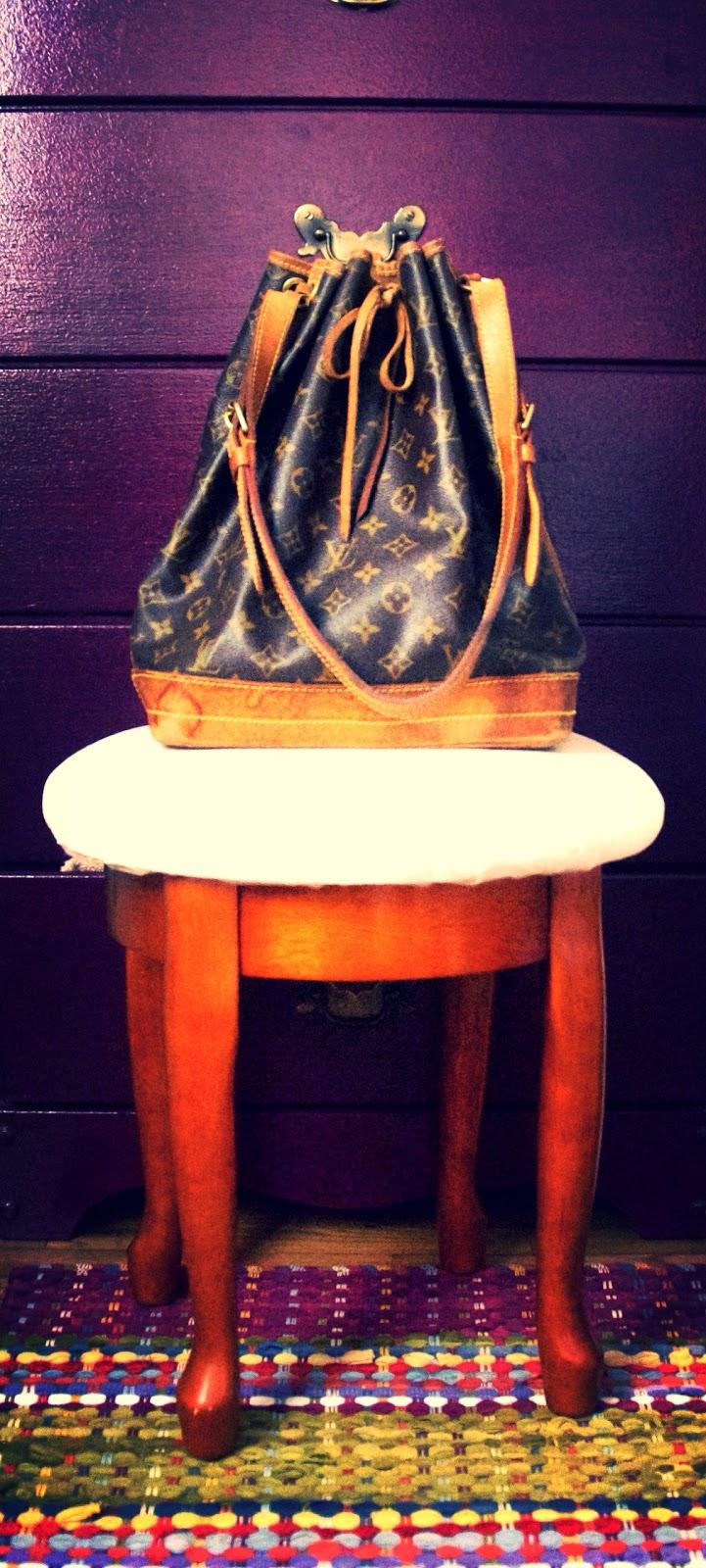 Louis Vuitton Noé handbag vintage