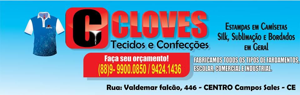 CLOVES TECIDOS