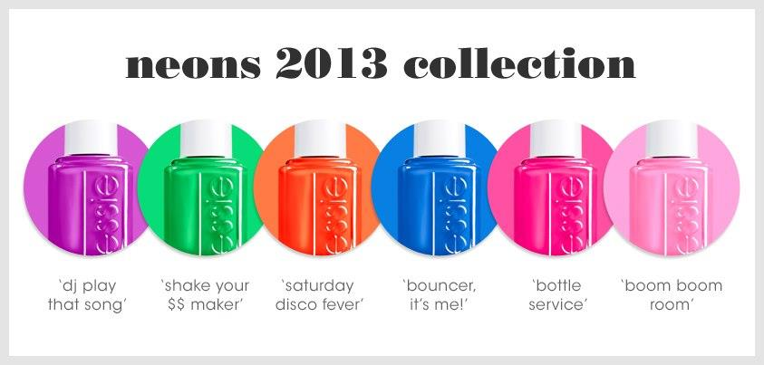 Essie\'s 2013 Neon Collection // DJ Play That Song - barefoot duchess ...
