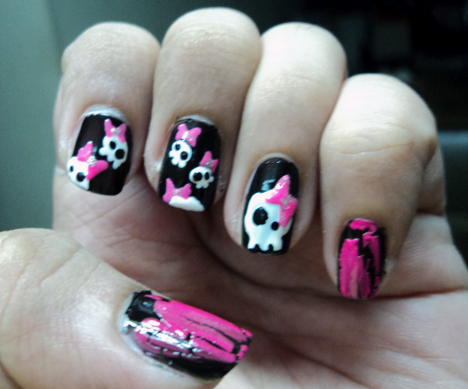 The Beauty And The Cheap Nail Art Challenge Day 4 Bows