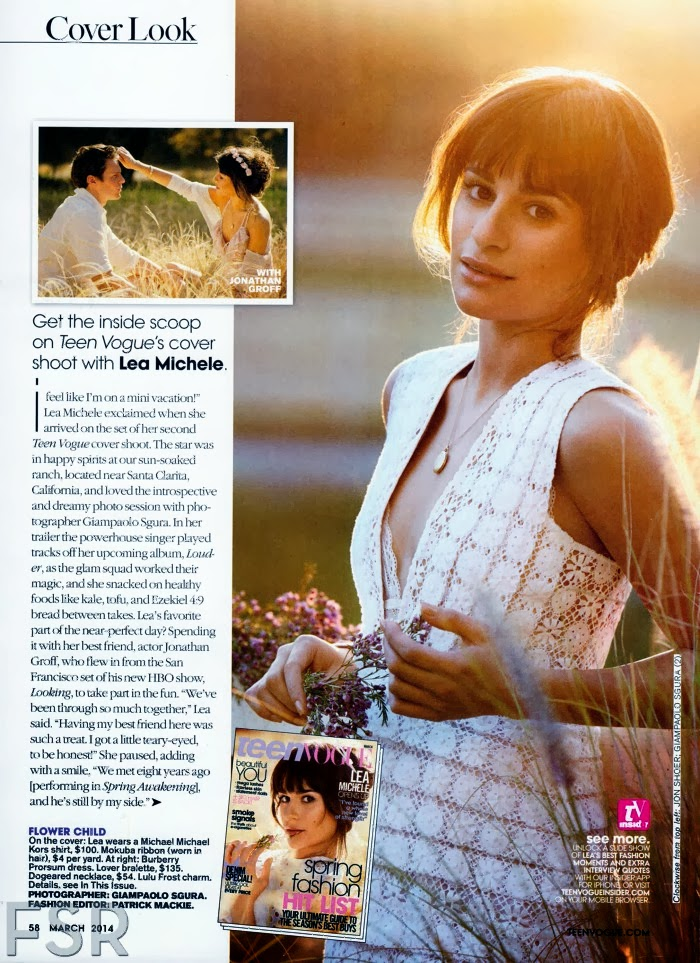 Lea Michele HQ Pictures Teen Vogue  Magzine Photoshoot March 2014