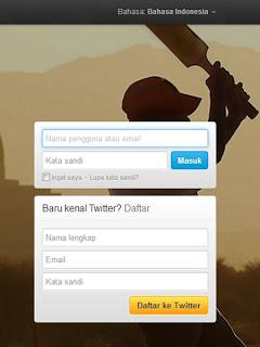 cara membuat twitter