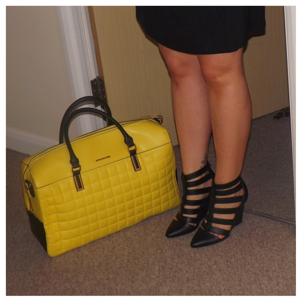 River Island Yellow Bag