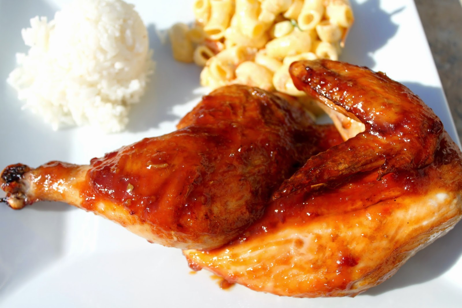 Feast for the Eyes: Hawaiian Style Huli Huli Chicken
