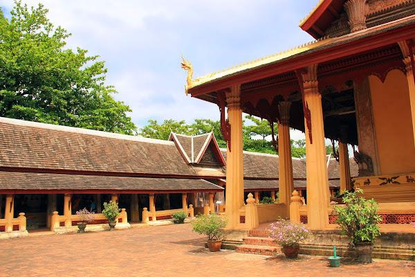 Wat Saket à Vientiane