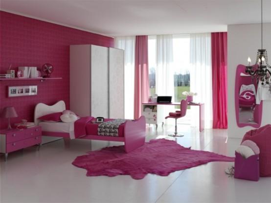 Dormitorios para ni as estilo de las mu ecas barbie for Tipos de cuartos para ninas