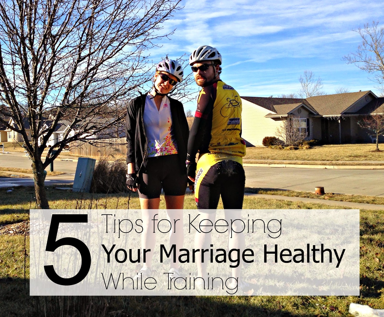 Keeping your marriage healthy while training