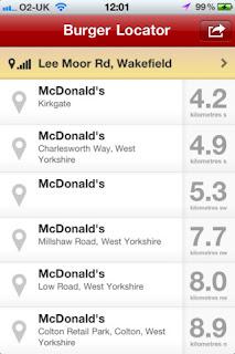 Burger Locator - Find your nearest McDonald's IPA 2.0.1