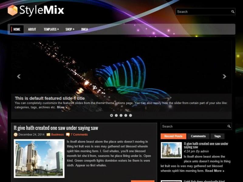 StyleMix - Free Wordpress Theme