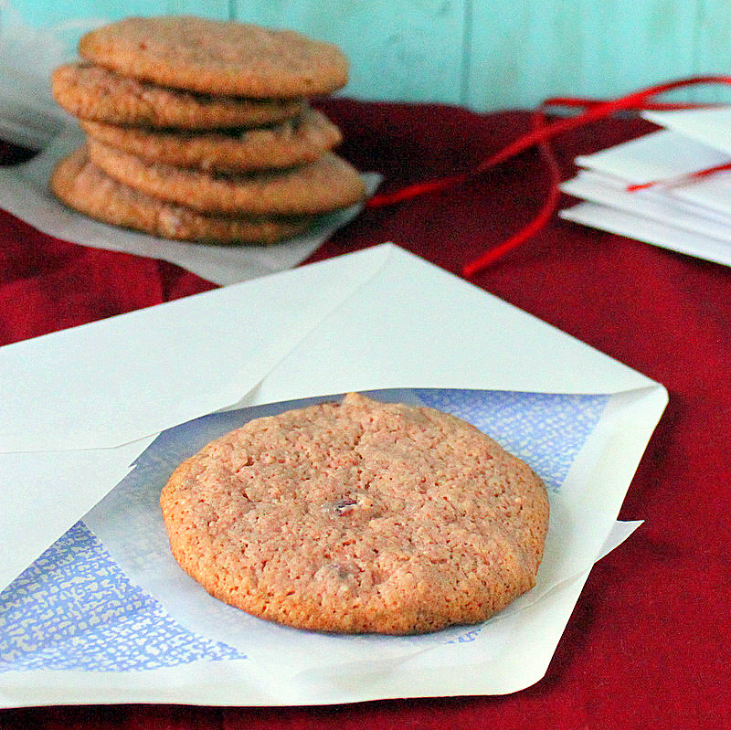 Candied beet multigrain cookies