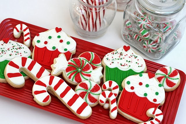 christmas wedding cookies