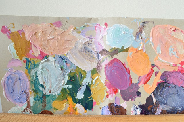 Painter's palette.. By Amy MacLeod