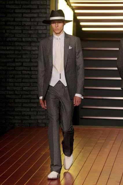 Milan Fashion Week S/S 2013: Alex Maklakov in John Varvatos show