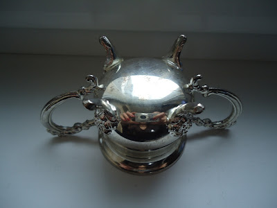 Vintage Silver Plated Sugar Bowl