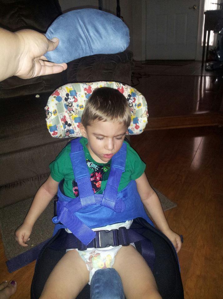 Spastic Quadriplegic Cerebral Palsy July 2012