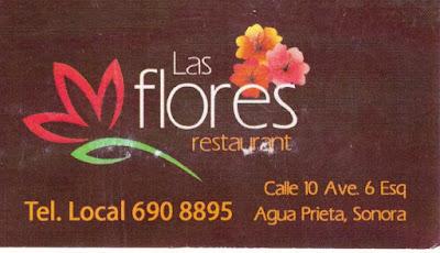 Restaurant Las Flores