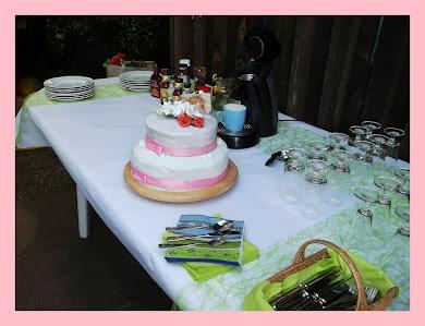 Sommer Hochzeitstorte