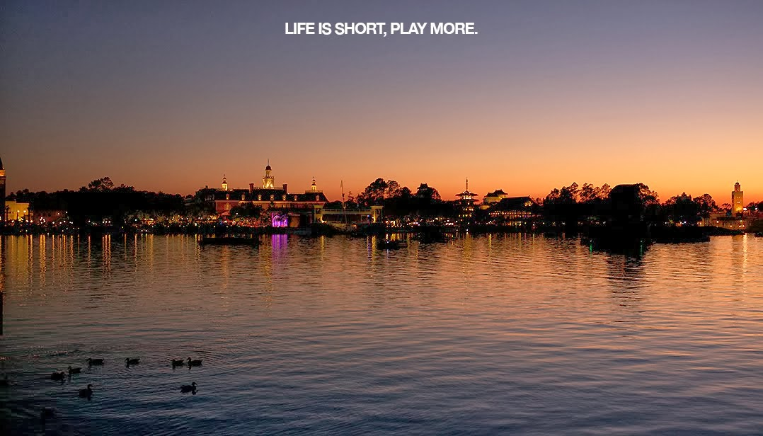 LIFE IS SHORT, PLAY MORE.