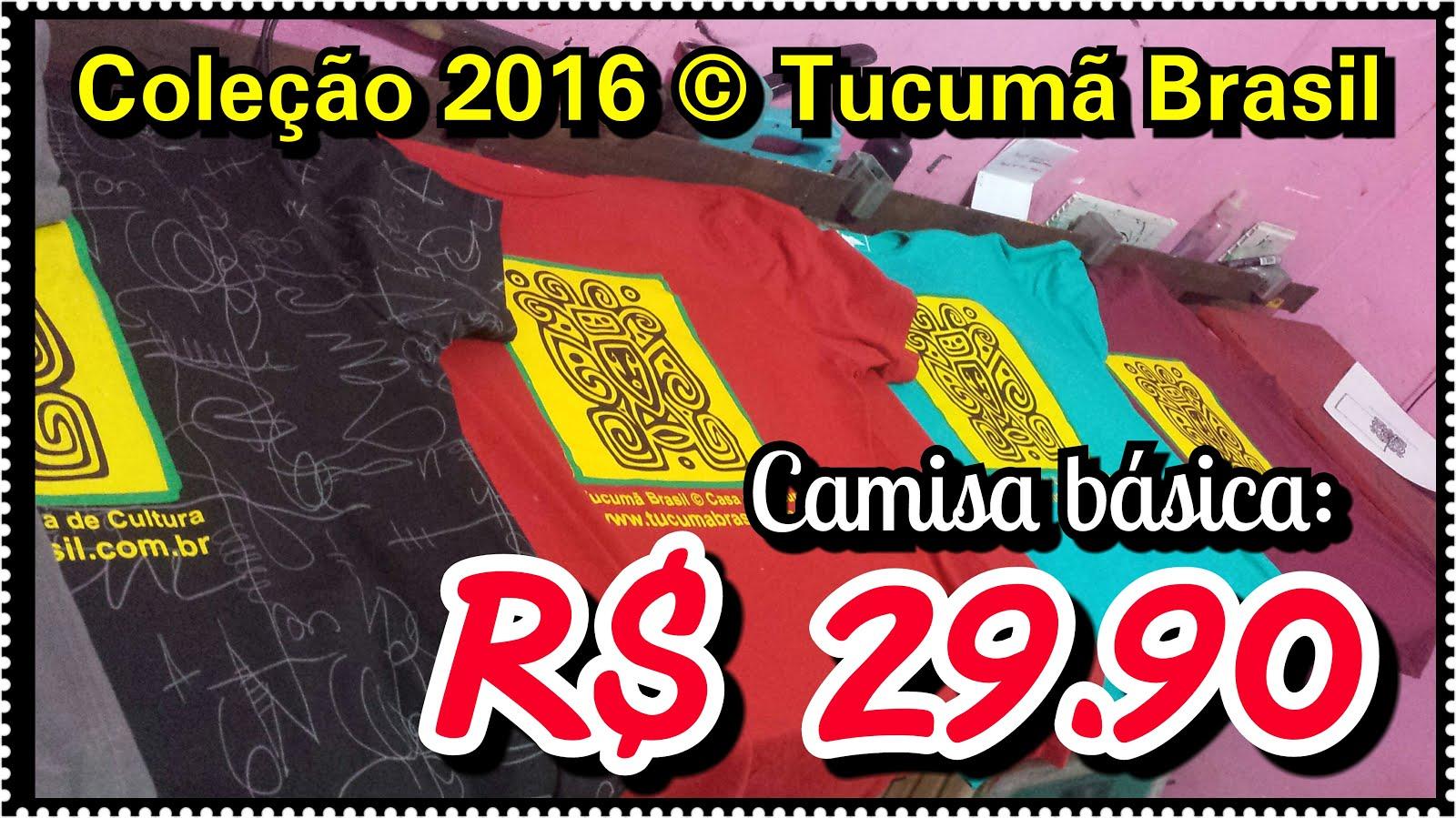 Camisa básica: R$ 29,90