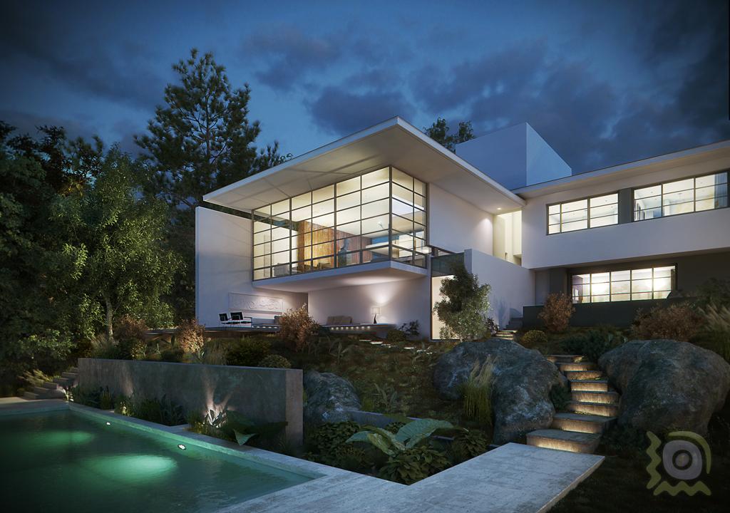 Fjpadial casa bridle road arquitecto antonio zaninovic for Software arquitectura 3d