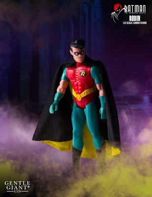 "Batman: The Animated Series Robin 12"" Jumbo Vintage Action Figure by DC Comics x Gentle Giant"