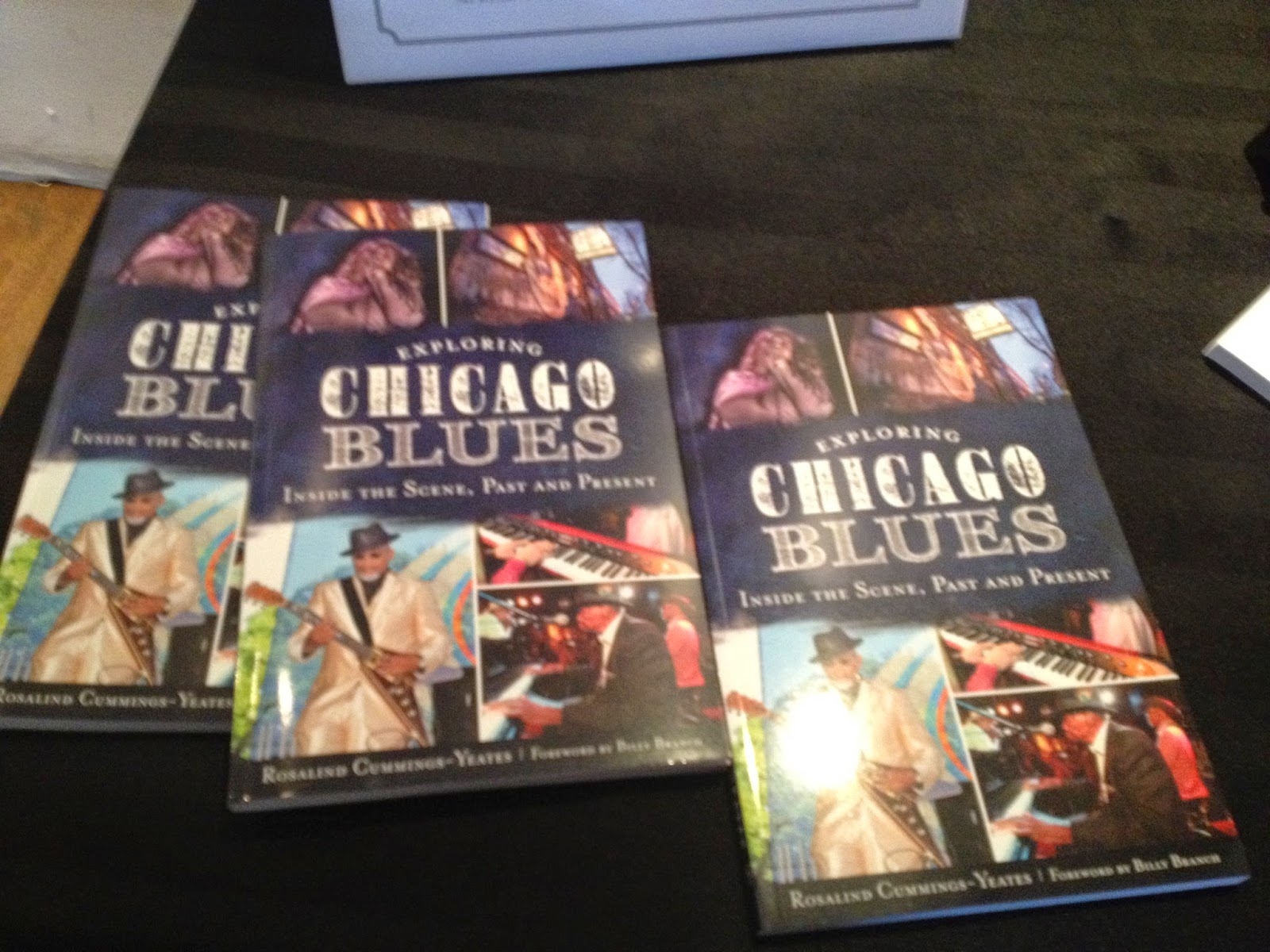Exploring Chicago Blues by Rosalind Cummings-Yeates Book Signing Event