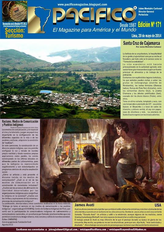 Revista Pacífico Nº 171 Turismo