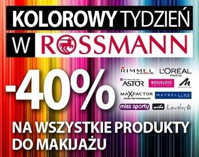22-28.11.13 -40% na kolorówkę w Rossmannie - co zamiarzam kupić? / 21-24.11.2013 -40% w Super-Pharm