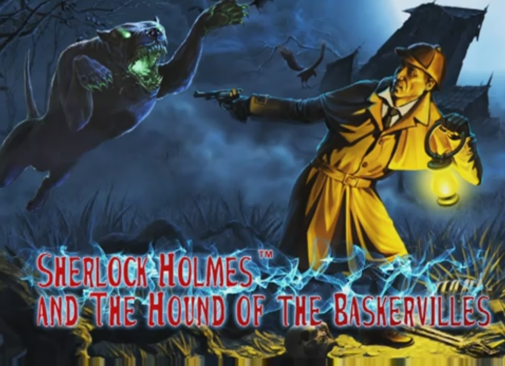 Pursued by the Devil's beast, Sir Henry Baskerville turns to the only mind that can save him, Sherlock Holmes! The legendary Hound of the Baskervilles haunts the Devon moors, viciously killing the Baskerville family line. None have survived their dark fate. Can Sherlock Holmes discover the truth of the creature and break the family curse?