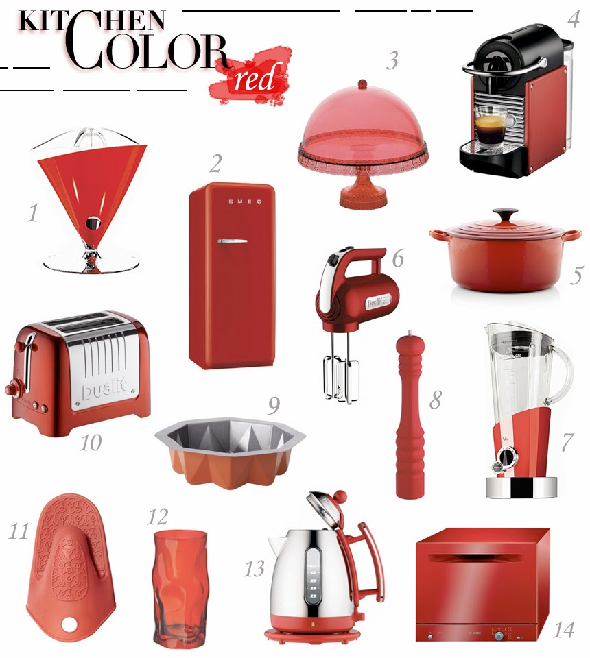 Beauty Follower: Red Kitchen Stuff _2