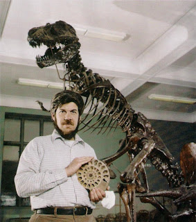 Stephen Jay Gould por Wally McNamee