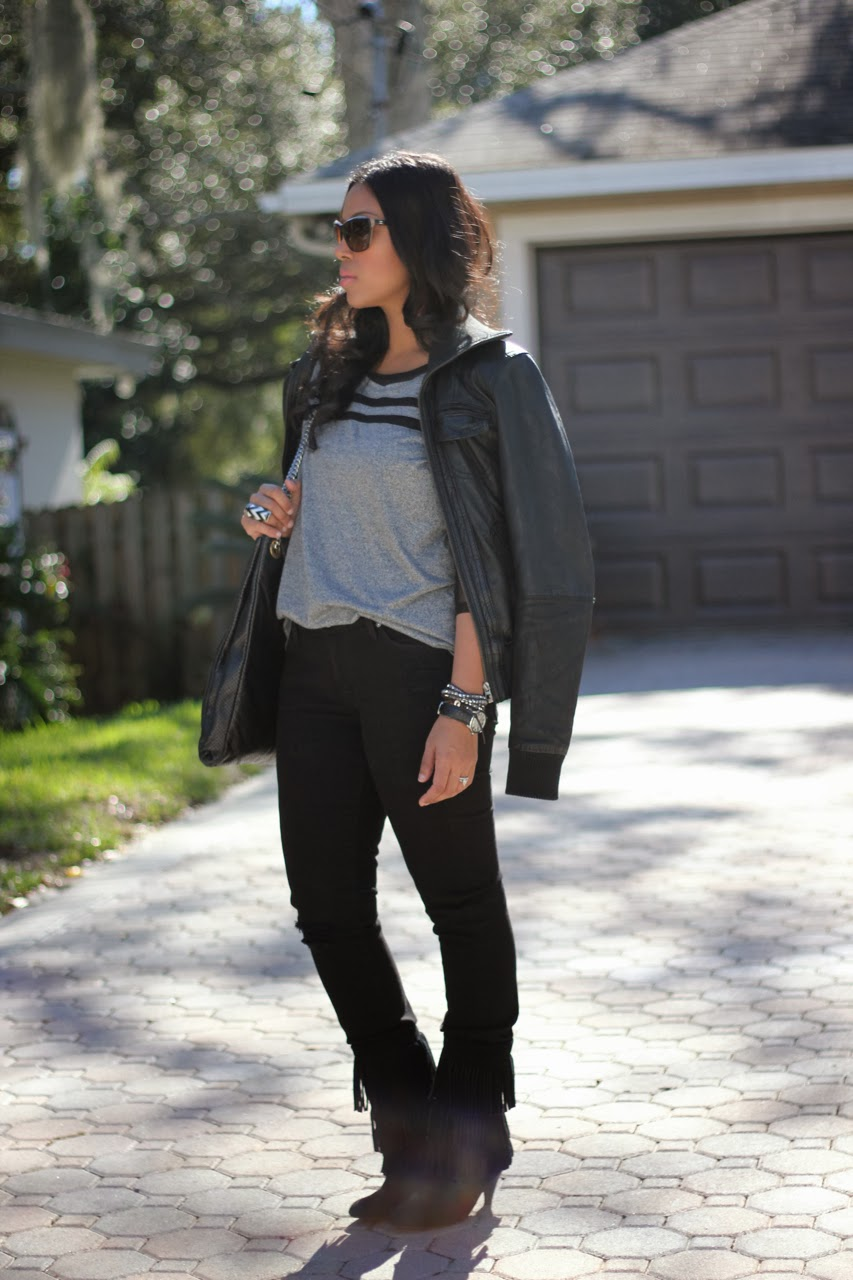Sheer sleeve h&m 7 for all mankind skinny slim illusion black fringe boots chinese laundry chanel bag sunglasses