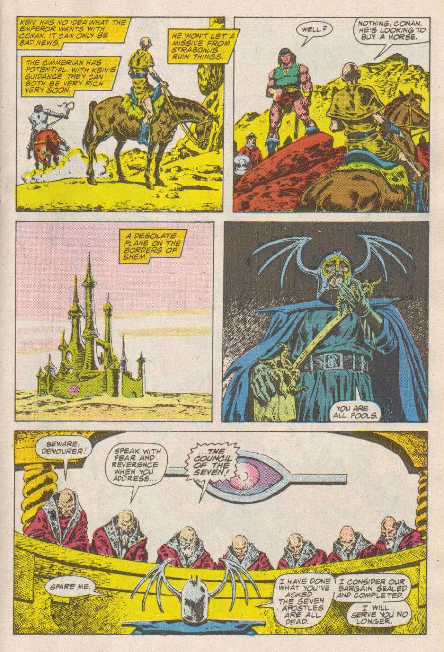 Conan the Barbarian (1970) Issue #190 #202 - English 12