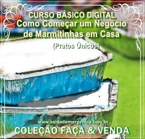 Curso MARMITINHAS DE PRATO ÚNICO Clique na Imagem para Adquirir