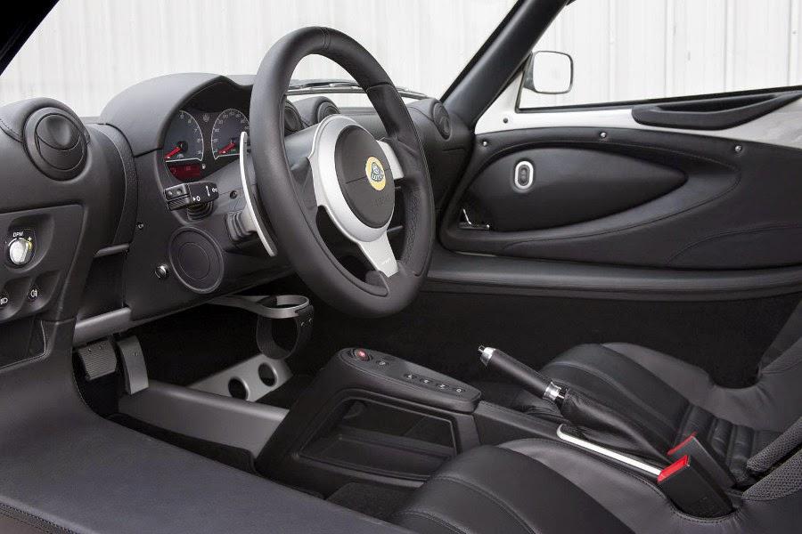 Lotus Exige S Automatic (2015) Interior