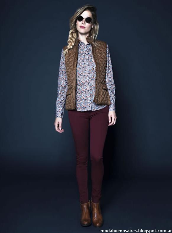 Moda invierno 2014 Kevingston Mujer chalecos de moda