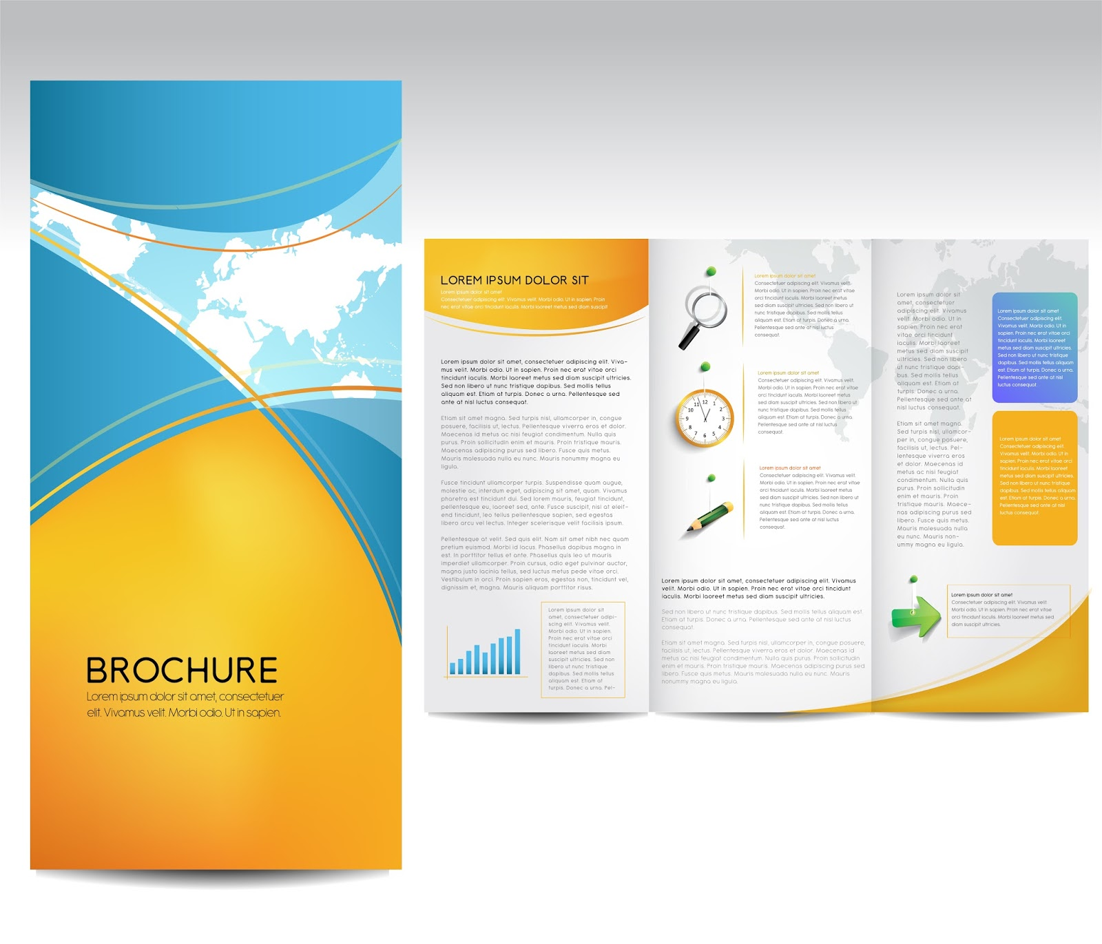 Few tips on how to make an attractive brochure for Attractive brochure designs