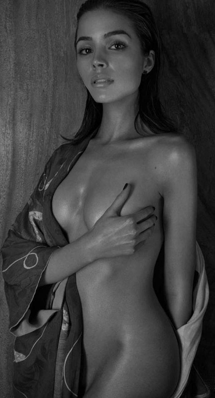 Olivia Culpo desnuda para la revista Treats!