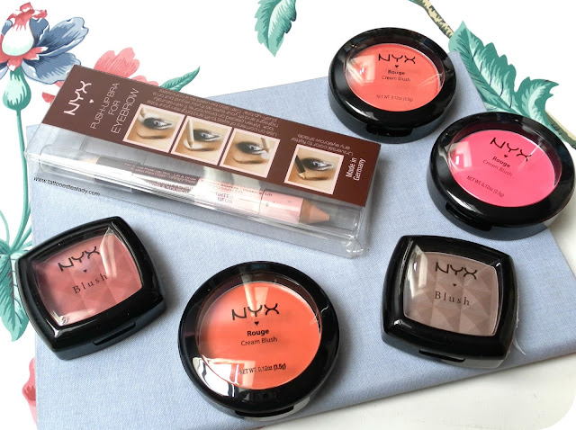 Products from NYX Cosmetics