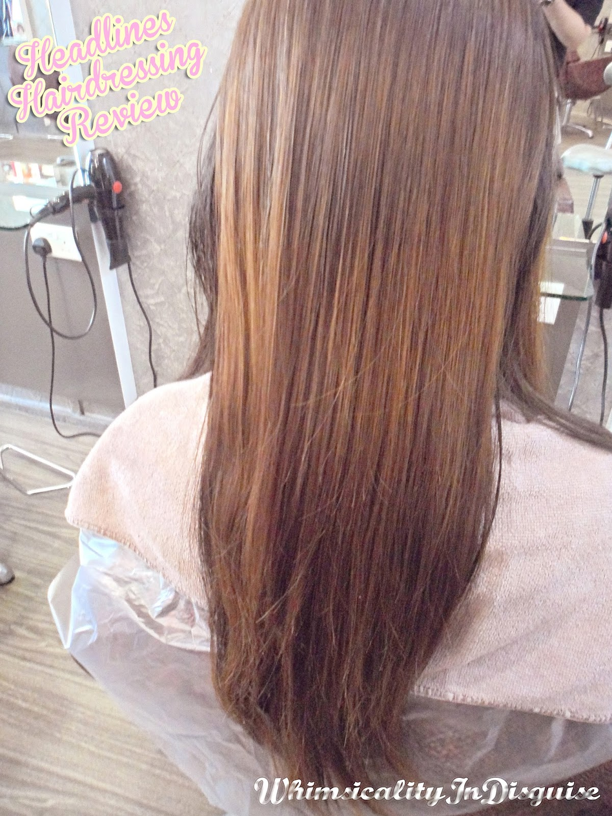 Headlines Hairdressing hair dye review