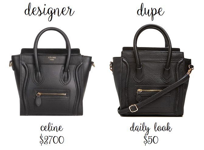 replica celine - Halcyon Youth: Identical Designer Dupes