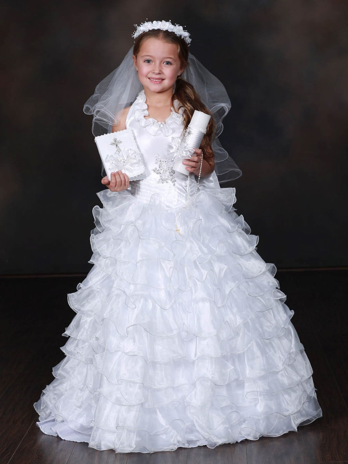 Over The Years I Have Seen Dresses For Little Girls Who Are Celebrating Their First Communion In Catholic Church And They Always Look Like Wedding