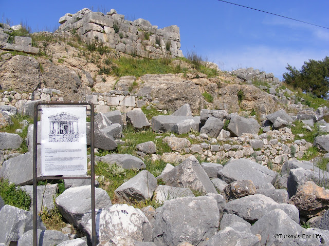 Site Of Nereid Monument, Xanthos, Turkey