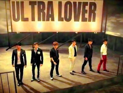 2PM Ultra Lover members