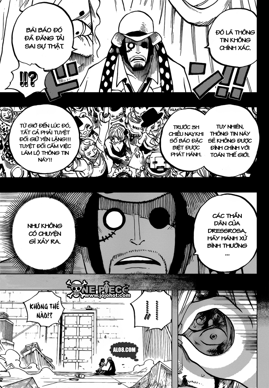 One Piece Chapter 712: Violet 011