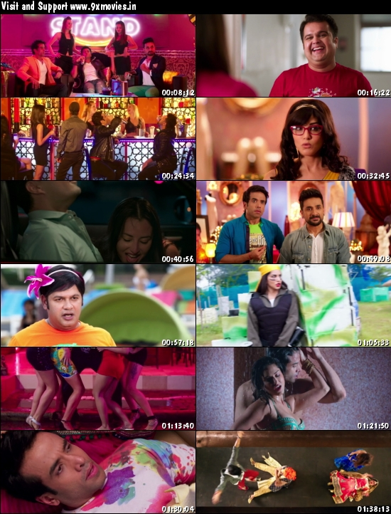 Mastizaade Movie Promotion - Sunny Leone, Veera Das