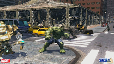 The Incredible Hulk games