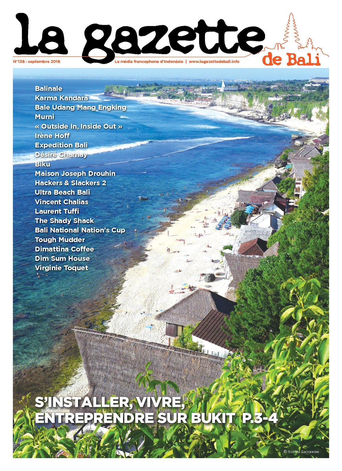 La Gazette de Bali septembre 2016