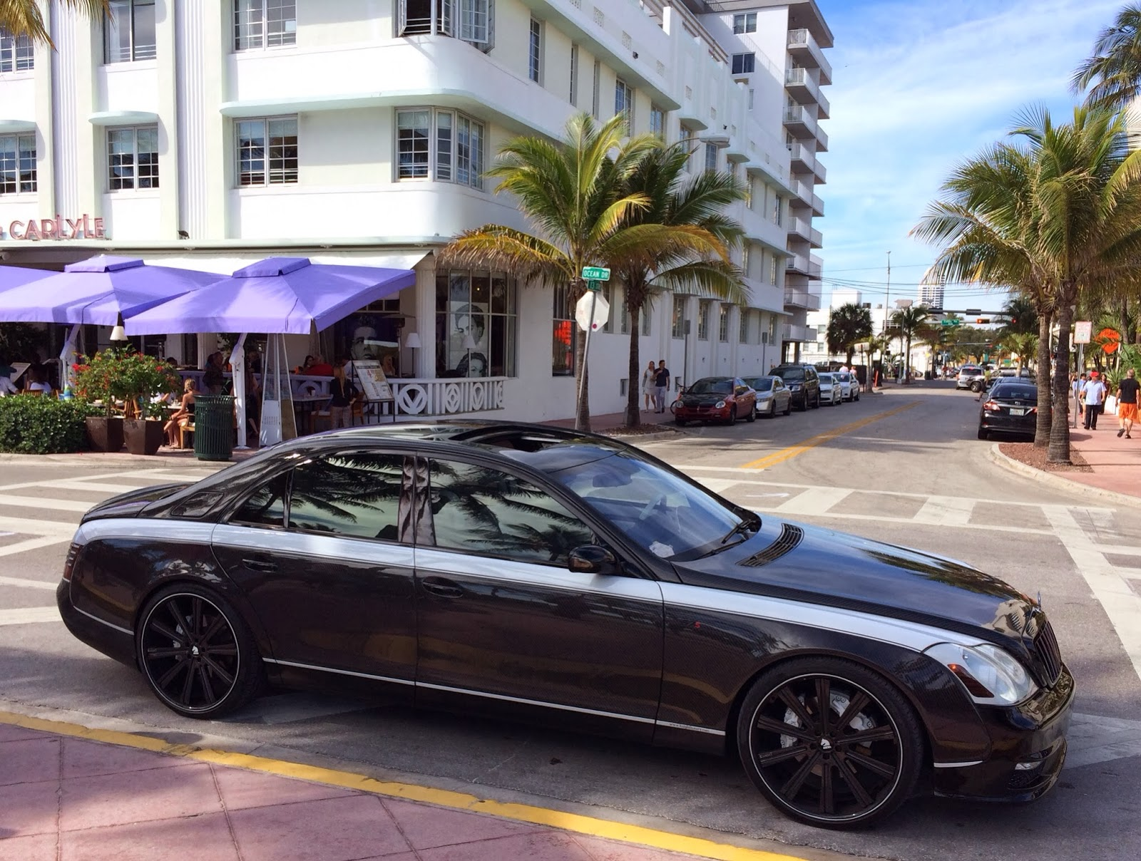Modified Maybach 57s On Miami Beach Exotic Cars On The
