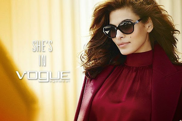Eva Mendes in the advertising campaign